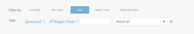 Multiple tags-sponsored